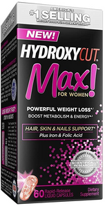 Pro Clinical Hydroxycut Max! for Women 60 Rapid Release Capsules | 0631656321135
