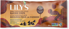 Lily's Sweets Dark Chocolate Style Baking Chips 255g | 810003460516