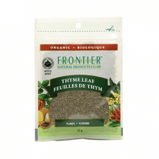 Frontier Natural Products Organic Thyme Leaf Flakes | UPC:089836210456