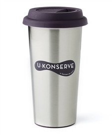 U-Konserve Stainless Steel Insulated Coffee Cup