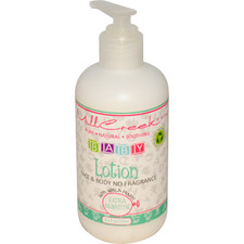 MillCreek Baby Face and Body Lotion Fragrance Free   079526006209