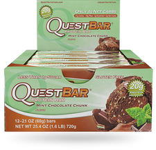 Quest Protein Bar Mint Chocolate Chunk | 888849002269
