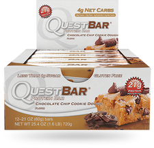 Quest Protein Bar Chocolate Chip Cookie Dough   888849002207