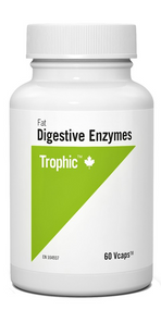 Trophic Fat Digestive Enzymes 60 veg capsules   069967127410