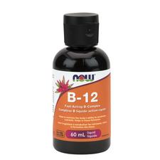 Now Foods Fast Acting B-12 B-Complex Liquid | 733739804648