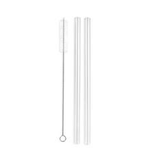 Enviro Glass Straw Regular Straight Combo 9.5mm Diameter | 633131463453 | 633131463460 | 633131463477