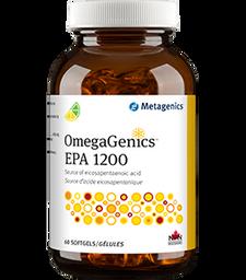 Metagenics OmegaGenics EPA 1200 Lemon-Lime Flavour 60softgels | 755571940261