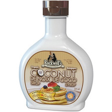 Rockwell's Whole Foods Organic Coconut Syrup Maple Flavour | 852444001187