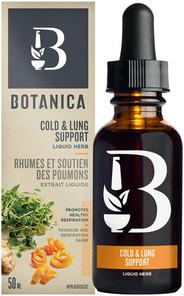 Botanica Cold & Lung Support Liquid Herb 50 ml | 822078920086