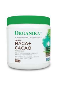 Organika Maca & Cacao Organic Powder 200g | 620365018368