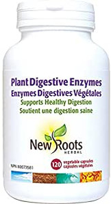 New Roots Herbal Plant Digestive Enzymes   628747113113