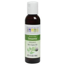 Aura Cacia Organic Sesame Skin Care Oil | 051381306090