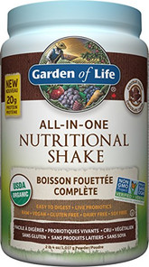 Garden of Life All-In-One Nutritional Shake Chocolate Cocoa 1017g    658010120432