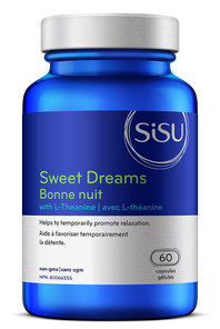 Sisu Sweet Dreams with L-Theanine 60 Capsules | 777672026682