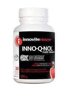 Innovite Health Inno-Q-Nol 100mg 30 soft gels   626712101653