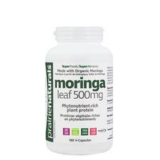 Prairie Naturals Organic Moringa Leaf 500mg 180 V-Capsules | 067953006305