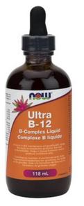 Now Foods Ultra B-12 B-Complex Liquid   733739804525