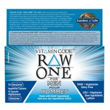 Garden of Life Vitamin Code RAW One for Men | 658010114295