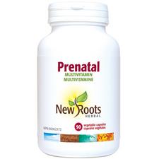 New Roots Herbal Prenatal - 90 veg capsules   628747114349