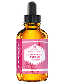 Leven Rose 100% Pure & Organic Red Raspberry Seed Oil