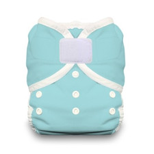 Thirsties Duo Wrap Hook and Loop Diaper Aqua | 812087014685 | 812087014869