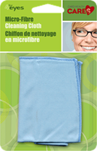 Card Health Cares 4 Eyes Microfibre Lens Cleaning Cloth   872798003149