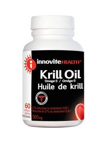 Innovite Health Krill Oil Omega-3 500mg 60 Softgels | 626712101752
