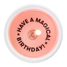 54 Celsius Message Candle Have a Magical Birthday