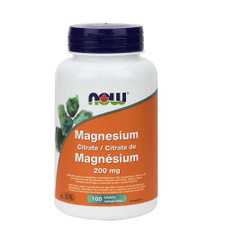 Now Foods Magnesium Citrate 200mg | 733739812902