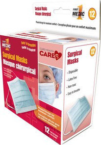 Card Health Care First Medic Surgical Masks   872798000971