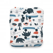 Thirsties Natural One Size All In One Snap Diaper Adventure Trail 8-40 lbs   816905021060    SKU : TB-1216-001