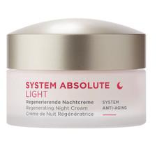 Annemarie Borlind System Absolute Light Anti-Aging Regenerating Night Cream Light 50 mL |  4011061008474