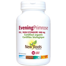 New Roots Herbal Evening Primrose Oil 1000mg 90 Softgels | 628747114387