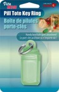 Card Health Cares Pill Tote Plastic Key Ring VitaMedic   872798000711