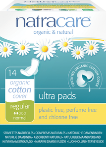 Natracare Ultra Pads W Wings Regular | 782126003058