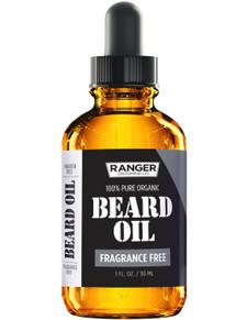 Ranger Grooming Co. 100% Pure Organic Beard Oil 30 ml Fragrance free |