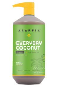 Alaffia Everyday Coconut Shampoo - Purely Coconut 950mL | 187132007920