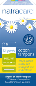 Natracare Organic Applicator Tampons Regular | 782126008008