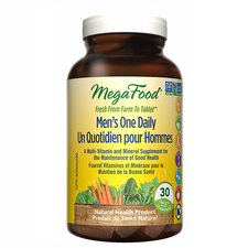 MegaFood Men's One Daily 30 Tablets | 051494901038
