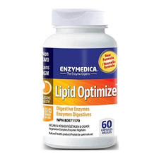 Enzymedica Lipid Optimize - Digestive Enzymes 60 Capsules | 670480451588