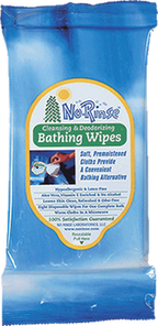 Card Health Cares No Rinse Cleansing and Deodorizing Bathing Wipes | 075244010009