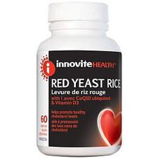 Innovite Health Red Yeast Rice with CoQ10 ubiquinol & Vitamin D3 | 626712102162 | 626712102179