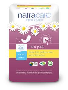 Natracare Natural Maxi Pad Super | 782126003034