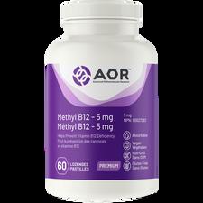 AOR Methyl B12 5mg (Formerly known as Methylcobalamin) 60 Lozenges | 624917040326