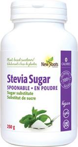 New Roots Herbal Stevia Sugar Spoonable - 250g   628747910705