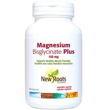 New Roots Herbal Magnesium Bisglycinate Plus 150mg   628747122023   628747113908