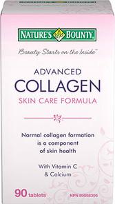 Nature's Bounty Advanced Collagen Skin Care Formula   029537045995