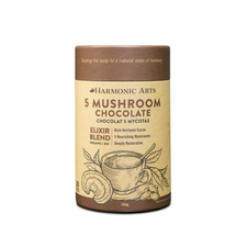 Harmonic Arts 5 Mushroom Chocolate Elixir Blend 160g   842815036924 \HAR-1003-001
