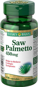 Nature's Bounty Saw Palemetto 450 mg   029537035316