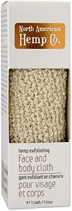 North American Hemp Co. Hemp Exfoliating Face and Body Cloth 1 Count | 628143060035